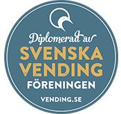 Kaffekompaniet är diplomerad av Svenska Vending Föreningen.